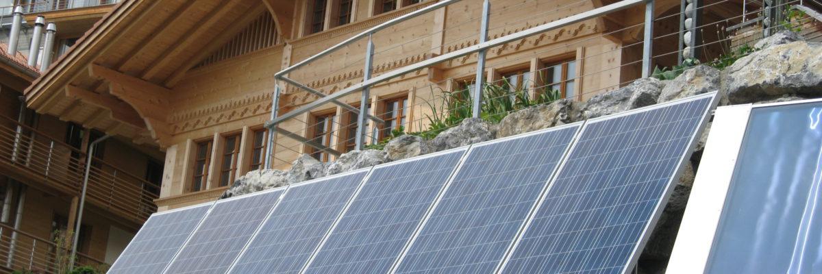 Moix Solaranlage Hasliberg Reuti